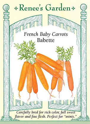 Carrot Baby Babette French Seeds
