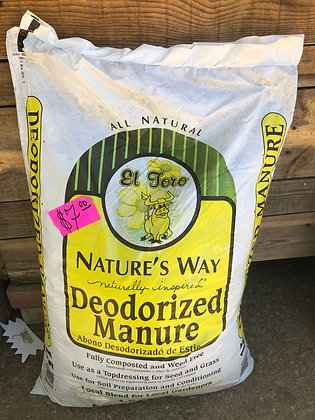 Deodorized Manure