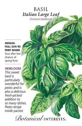 Basil Italian Large Leaf Seeds