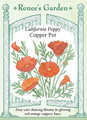 Poppy Cali Copper Pot Seeds