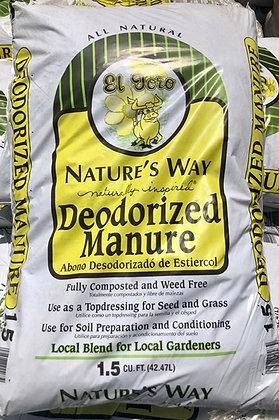 Deodorized Manure 1.5 cu.ft.