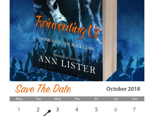 Save The Date, The Rock Gods Book 9
