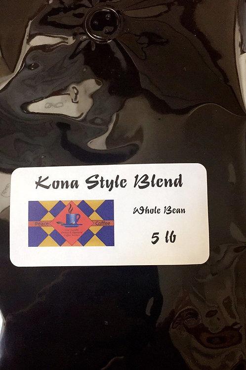 Kona  Blend Whole Bean (5lb Bag)