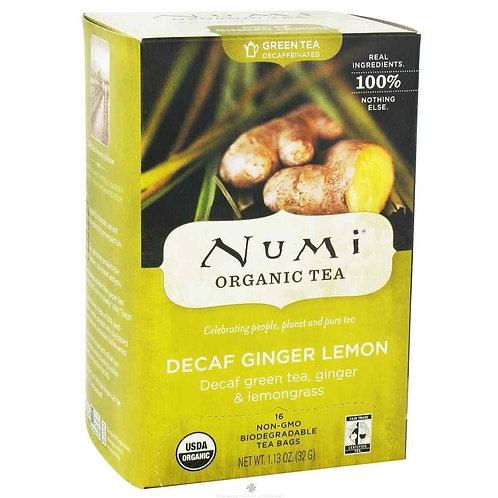 Decaf Ginger Lemon Tea (18pk)