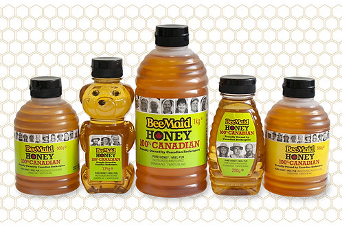 Bee Maid Honey (500g Container)