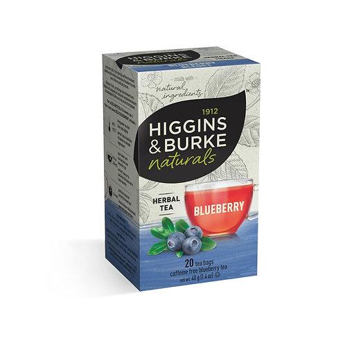 Higgins & Bruke Blueberry Tea (20pk)