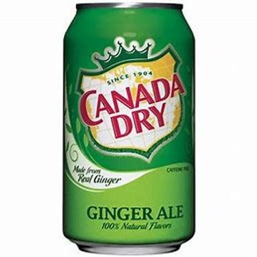 Ginger Ale  Can (12pk)