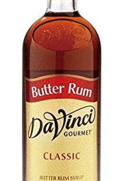DaVinci Butter Rum