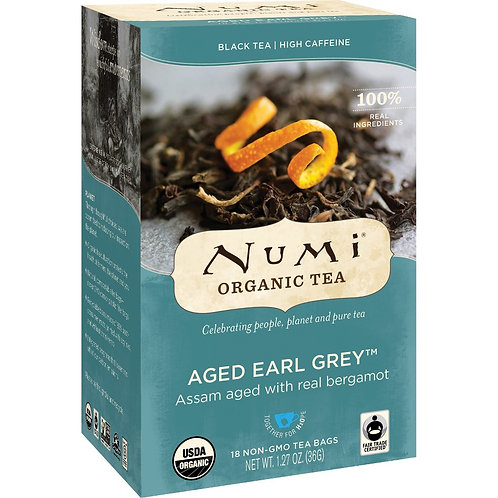 Numi Aged Earl Grey Tea (18pk)