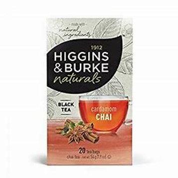 Higgins & Burke  Cardamon Chai (20pk)