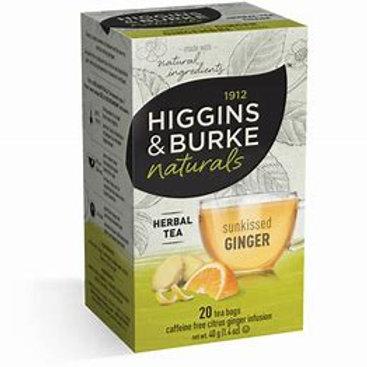 Higgins & Burke Sunkissed ginger  (20pk)