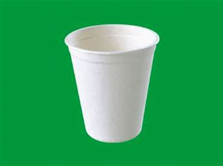 12oz  White Paper Cups (slv50 or Case of 1000)