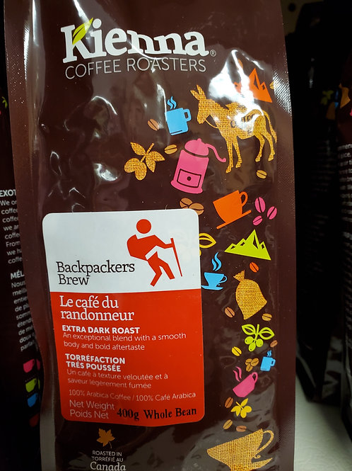 Backpacker's Brew (400g )Whole Bean