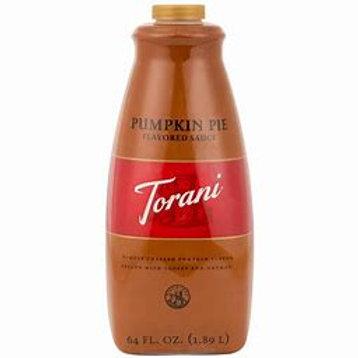 Torani Pumpkin Pie Sauce(1.89l)