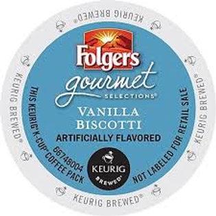 Folgers Vanilla Biscotti K-Cups (24pk)