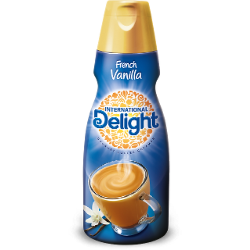 International Delight French Vanilla  Creamer (473ml Bottle)