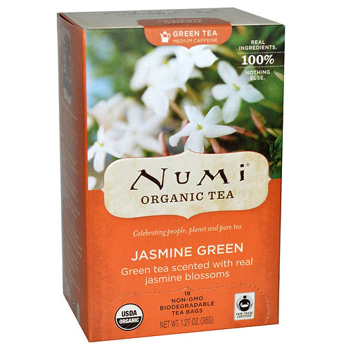 Numi Jasmine Green Tea (18pk)