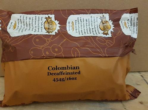 Decaf Colombian (1lb bag or 10 x 1lb)