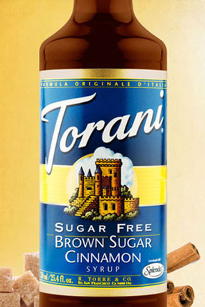 Torani Sugar Free Brown Sugar Cinnamon Syrup