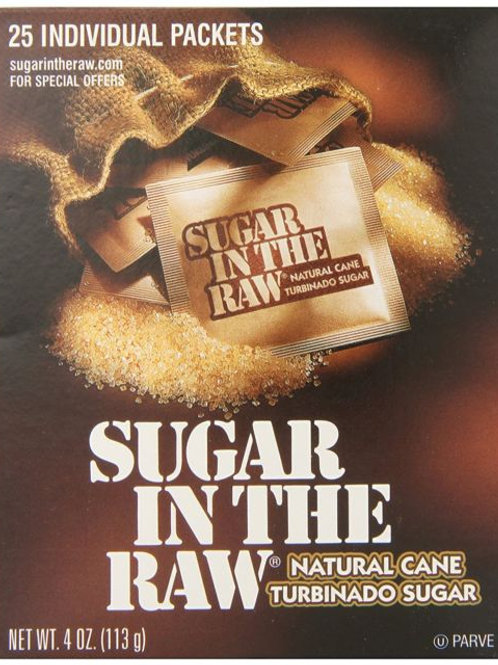 Sugar In The Raw (50pk envelopes)