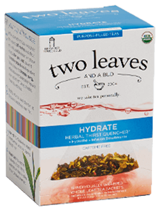 Two Leaves Hydrate Tea (15pk)