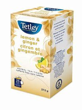 Tetley Lemon & Ginger (25pk)