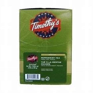 Timothy's Peppermint Tea (24pk)