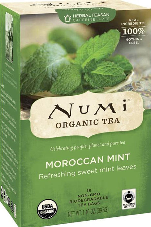 Numi Moroccan Mint Tea (18pk)