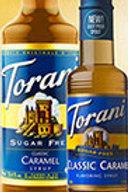 Torani Sugar Free Caramel Syrup