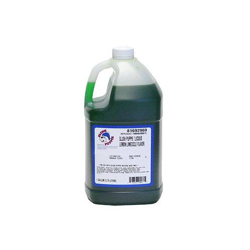 Slush Puppie Liciour Lemon Limecicle  Slushy Mix (2.75L