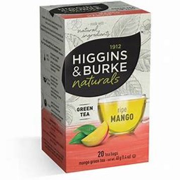 Higgins & Burke Mango Green (20pk)