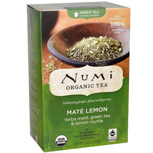 Numi Mate Lemon Tea (18pk)