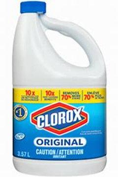 Clorox Bleach (3.57L or 1.89L)