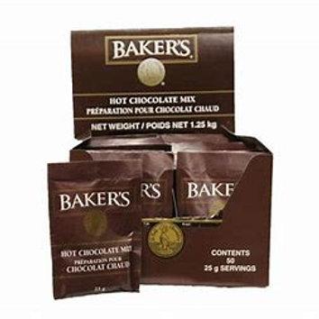 Baker's Hot chocolate 50pk