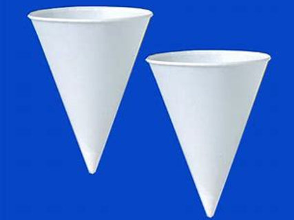 Snow Cone Cups 6oz (slv of 200 or case of 5000)