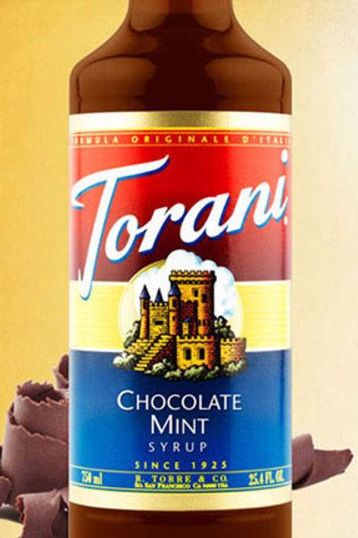 Torani  Chocolate Mint  Syrup