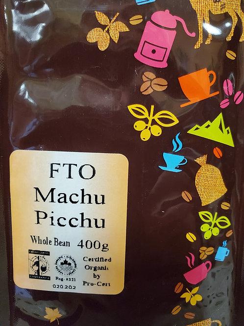 FTO Machu Picchu (400g) Whole Bean