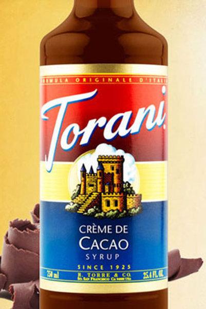 Torani  Creme De Cacao Syrup