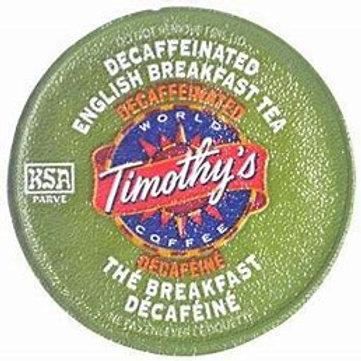 Timothy's Decaf English Breakfast (24pk)