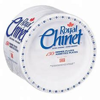 Royal Chinet Dinner Plates (125pk)