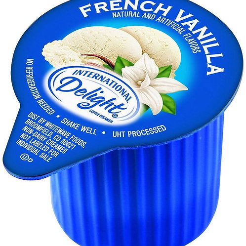 International Delight French Vanilla Creamer (Bag of 48 or a Case of 288)
