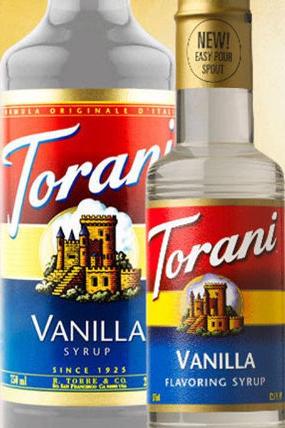 Torani  Vanilla Syrup