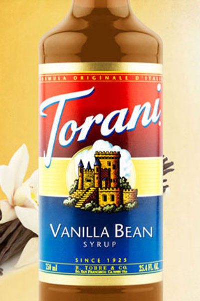 Torani  Vanilla Bean Syrup