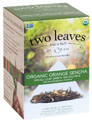 Two Leaves Orange  Sencha Tea (15pk)