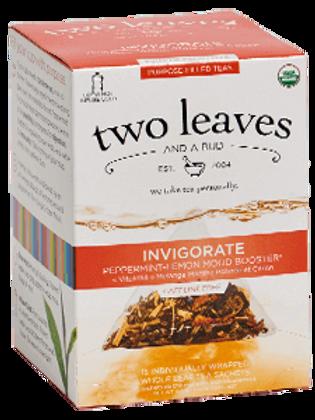 Two Leaves Invigorate Tea (15pk)