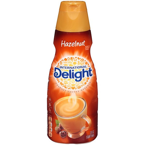 International Delight Hazelnut  Creamer (473ml Bottle)