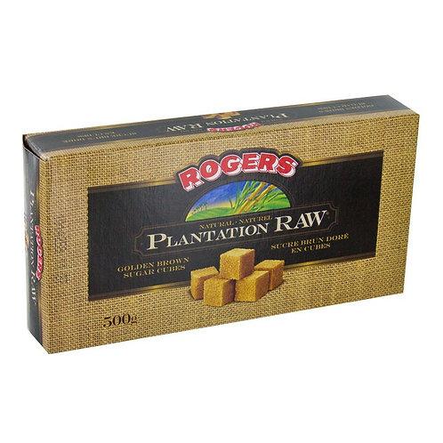 Rogers Plantation Raw Sugar Cubes (500g)