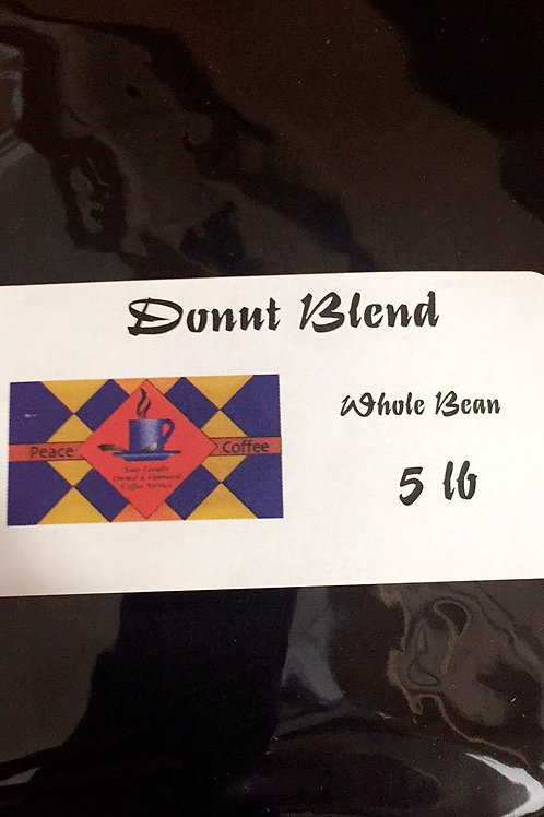 Donut Blend Whole Bean (5lb Bag)