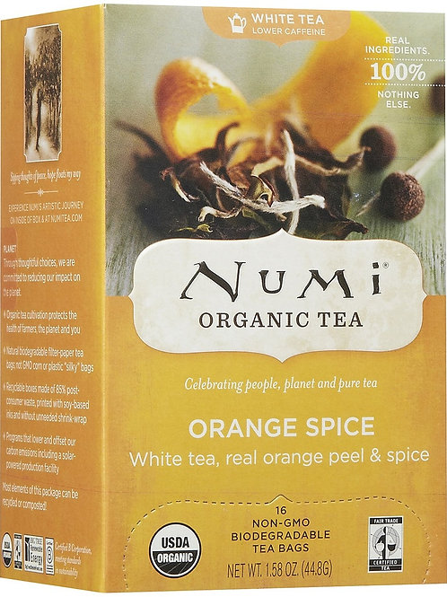Numi Orange Spice Tea (18pk)