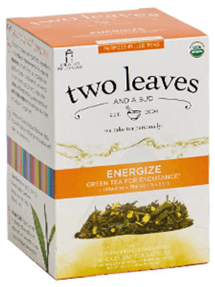 Two Leaves Energize Tea (15pk)